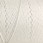 19 White Macrame Yarn
