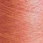 Aura Dyed Single Linen Yarn - Coral