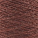 Coned Rug Wool - AX11a Rosewood