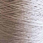 3/9wc Wool & Nylon Weaving Yarn - Pearl