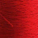 3/9wc Wool & Nylon Weaving Yarn - Scarlet