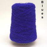 Coned Rug Wool - Shades of Blue