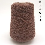 Coned Rug Wool - Brown shades