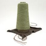 Cashmere - merino blend 100g cone - Sage