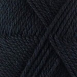 Pure British Chunky Wool - Black