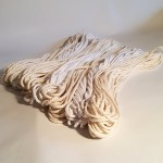 Recycled Cotton Cord Hanks