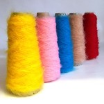 Chunky Mohair Balls and Cones