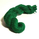 Double Knitting Cotton Skeins - Green