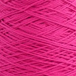 4ply Cotton Cones - Cerise