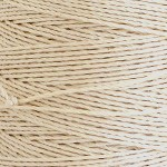 Pure Linen Cord - Bleached White