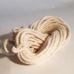 Recycled Cotton Cord - Hanks - Ecru 8
