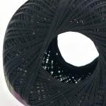 Empress Crochet Cotton black