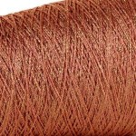 Glitter 4ply Metallic Yarn – 50g Coral