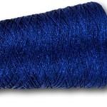 909 Sapphire  Glitter 4ply Metallic Yarn 200g