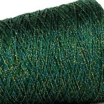 Glitter 4ply Metallic Yarn – 50g Jade Multi