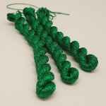 Glitter 4ply Metallic Yarn - emerald