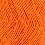 Double Knitting Cotton Balls - Orange