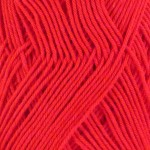 Double Knitting Cotton Balls - Red