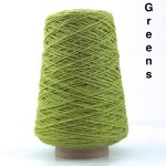 Coned Rug Wool - Green shades