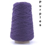 Coned Rug Wool - Purples