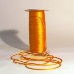 Rat Tail Macrame Cord - Tangerine