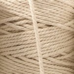 Recycled Cotton Cord Spools - Ecru 12