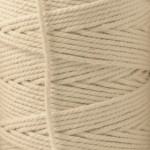 Recycled Cotton Cord Spools - Ecru 10