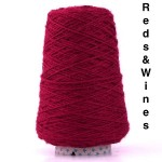 Coned Rug Wool - Reds and Wines