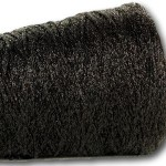 Black Sparkle Glitter 4ply – 50g