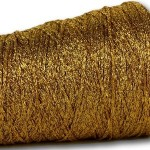 Gold Sparkle Glitter 4ply – 50g
