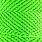 Cones of Polyester Cord – Fluro Lime