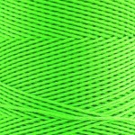 Polyester Corded Yarns Cones - Fluro Lime