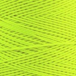 Cones of Polyester Cord – Fluro Yellow