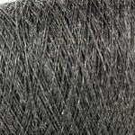 Pure Linen Cones - Speckled Coal