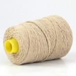 Undyed Pure Tussah Silk Noil Yarn - Wild Silk 16
