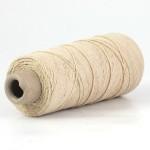 Undyed Pure Tussah Silk Noil Yarn - Wild Silk 4