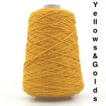 Coned Rug Wool - yellows and golds