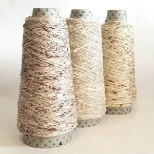 Fancy Textured Single Linen Yarn