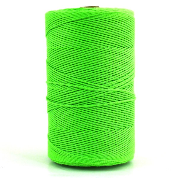 Polyester Cord Spools - Fluro Lime