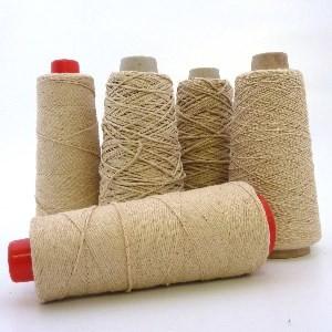 Undyed Pure Tussah Silk Noil Yarn